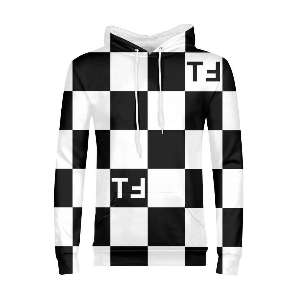 TℲ Mens Checkerboard Pullover Arizona Hoodie
