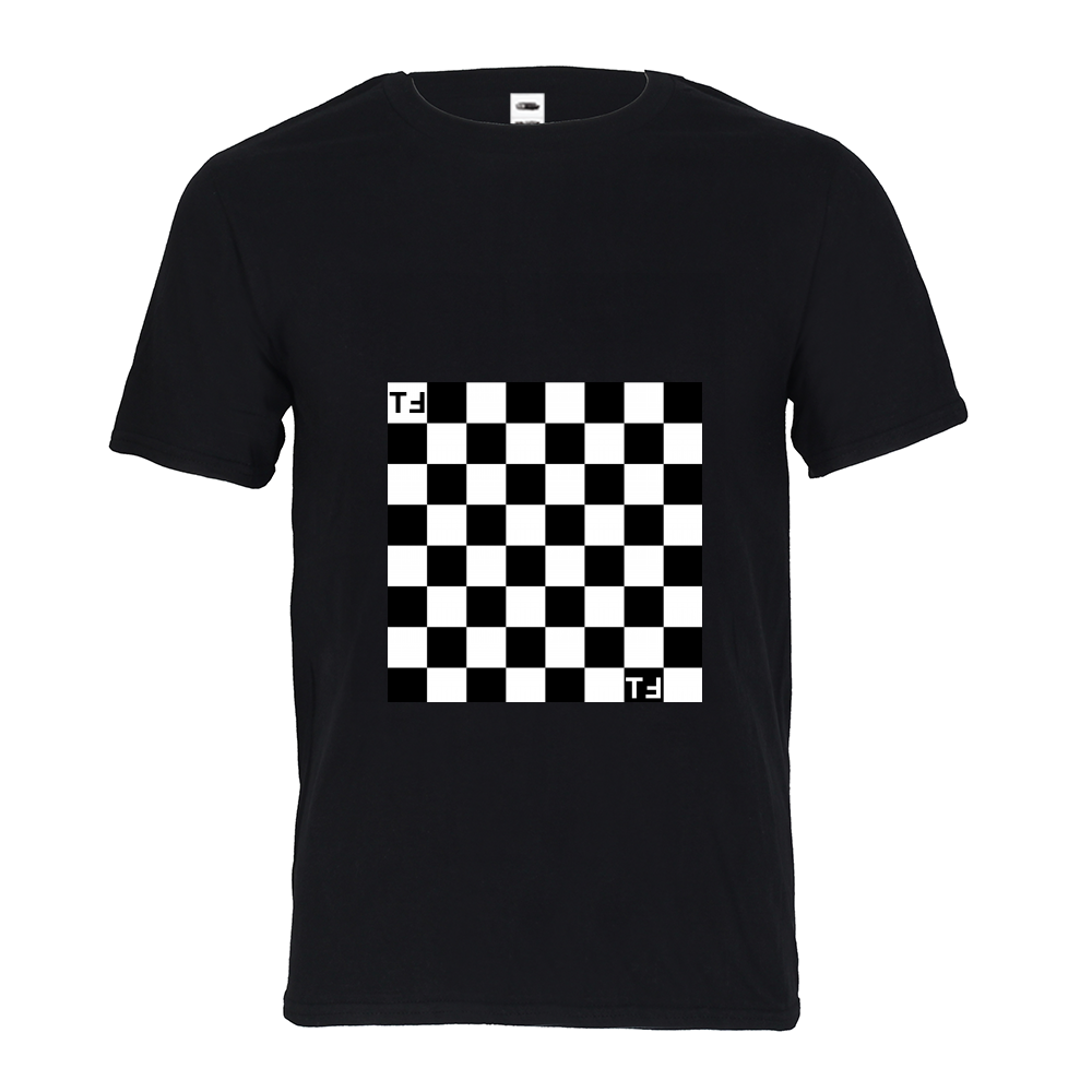 TℲ Kids Checkerboard Crewneck Tee