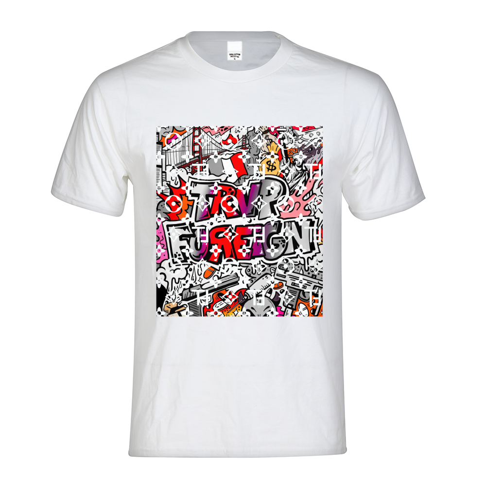 TℲ Graffiti Designer SE Mens Graphic Tee