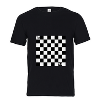 TℲ Checkerboard Mens Graphic  Tee
