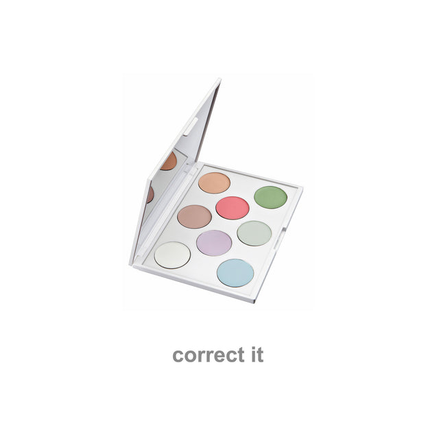 correct it foundation palette