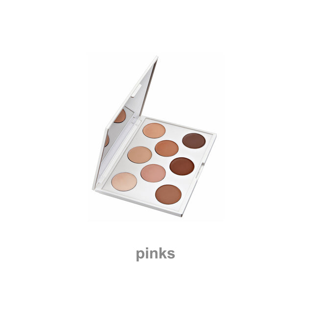 pinks foundation palette