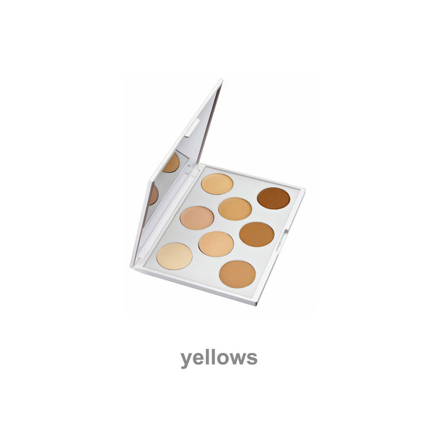 yellows foundation palette