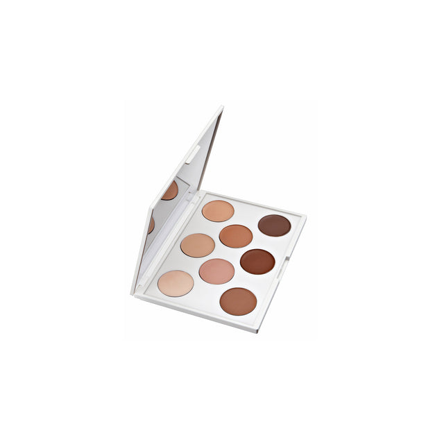 cream foundation pre-set palette