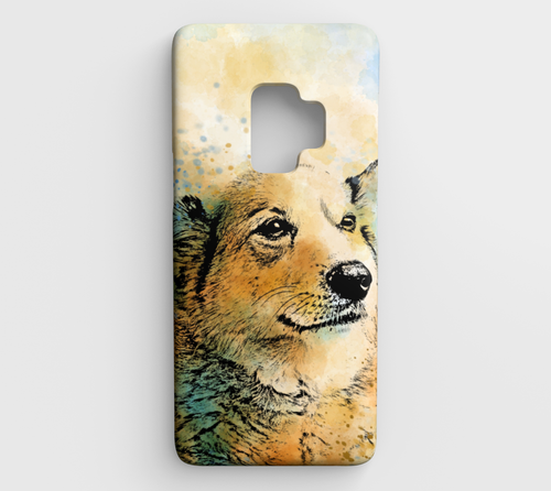 Dog 143 Samsung Galaxy S9 phone case