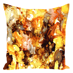 Abstract 19 Throw Pillows
