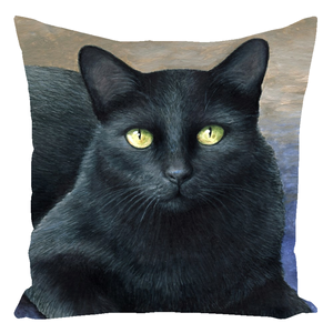 Cat 621 Throw Pillow