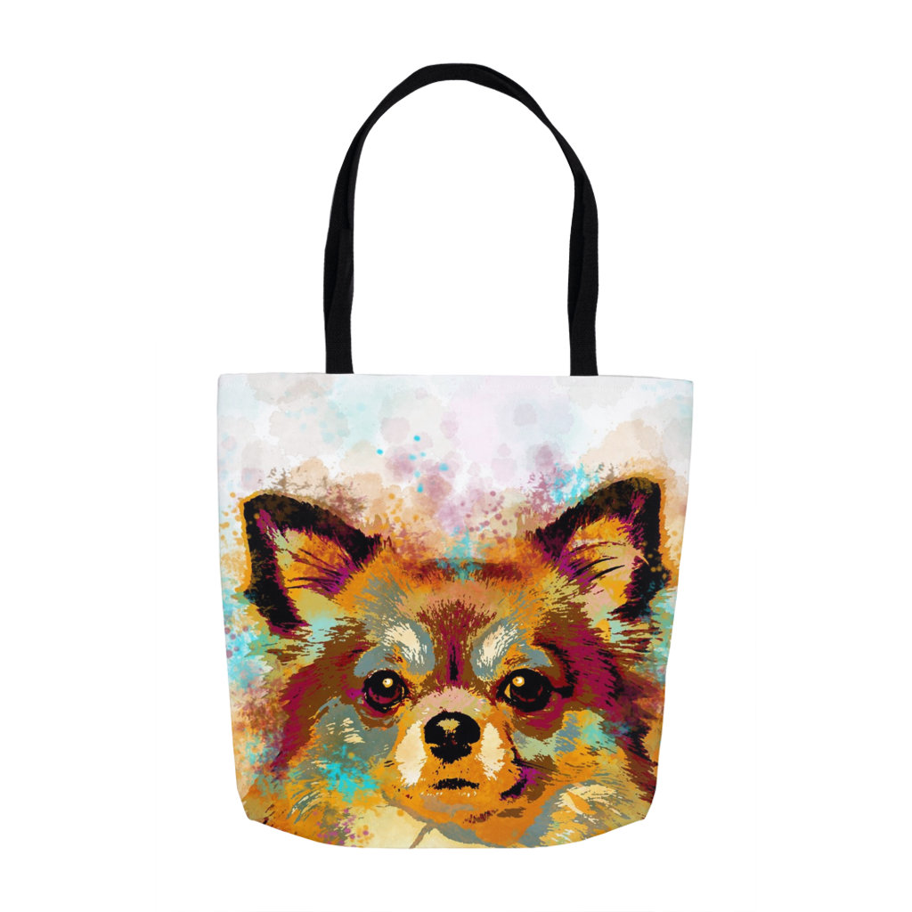 Dog 141 Chihuahua Tote Bag