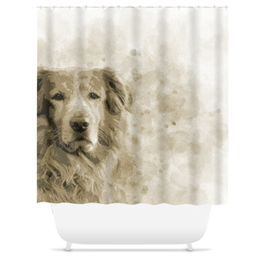Dog 145 Shower Curtains