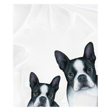 Load image into Gallery viewer, boston terrier throw blanket