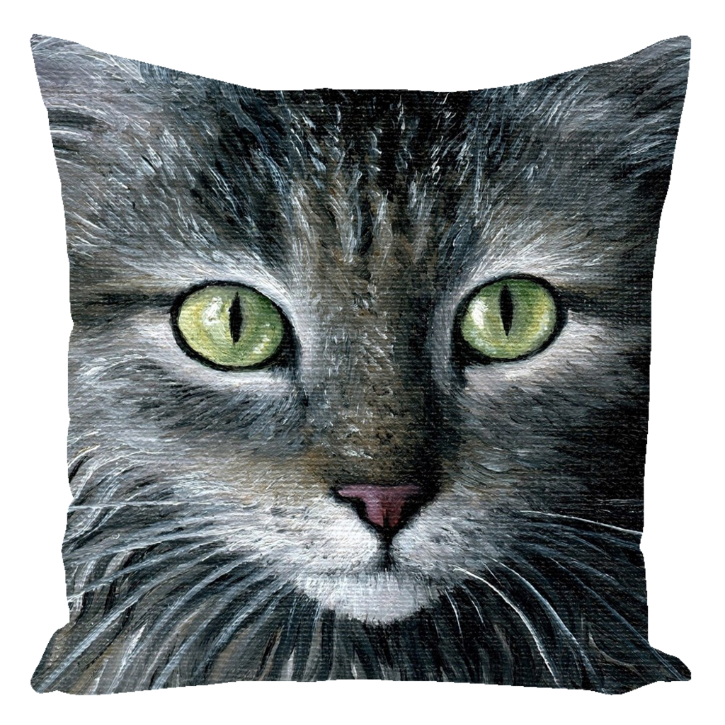 Cat 478 Throw Pillow