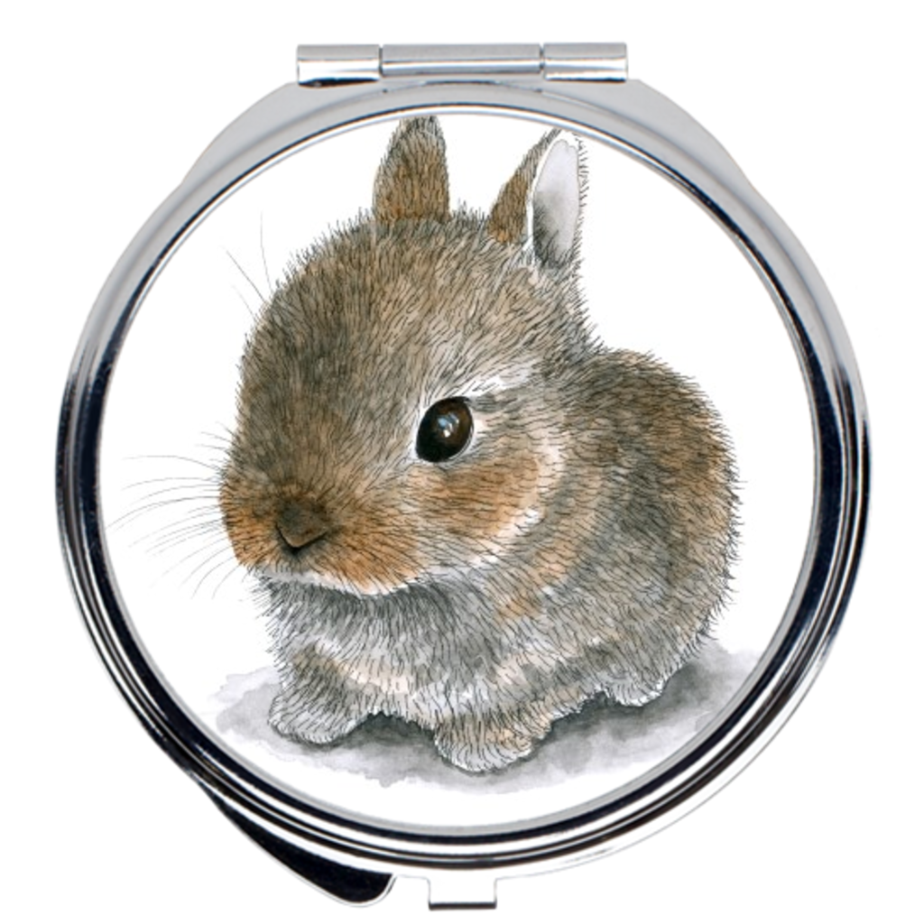 Rabbit 61 Compact Mirror
