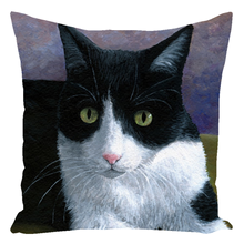 Load image into Gallery viewer, Cat 577 Throw Pillow