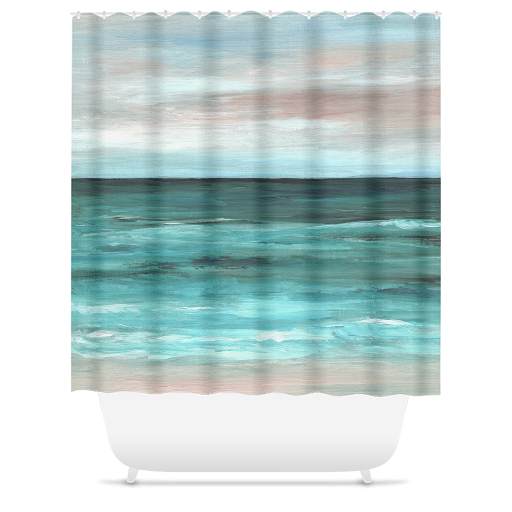 Sea View 265 Shower Curtains