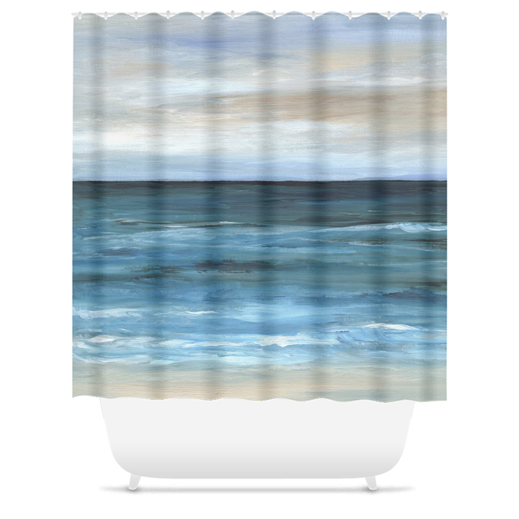 Sea View 266 Shower Curtains