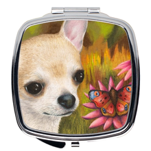 Load image into Gallery viewer, Dog 85 Chihuahua Compact Mirror