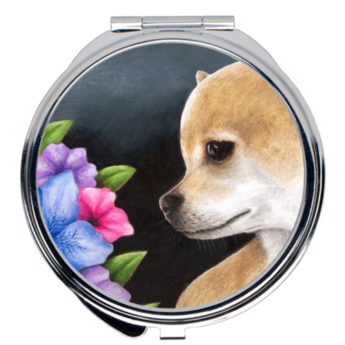 Dog 77 Compact Mirror