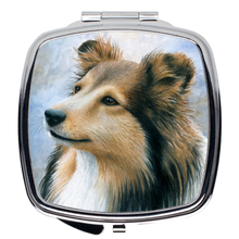 Load image into Gallery viewer, Dog 122 Compact Mirror