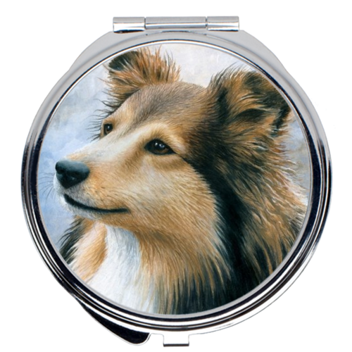 Dog 122 Compact Mirror