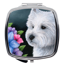 Load image into Gallery viewer, Dog 82 Westie Compact Mirror