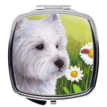 Load image into Gallery viewer, Dog 83 Westie Compact Mirror