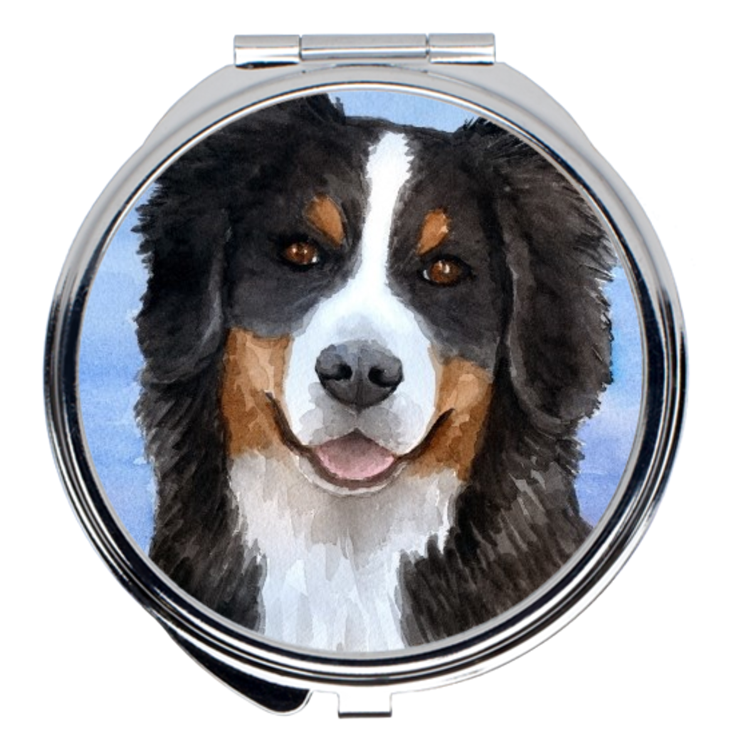 Dog 125 Bernese Mountain Compact Mirror