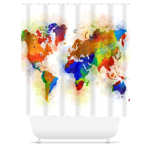 Design 77 Shower Curtains