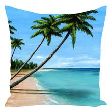 Load image into Gallery viewer, Sea View 272 Throw Pillow
