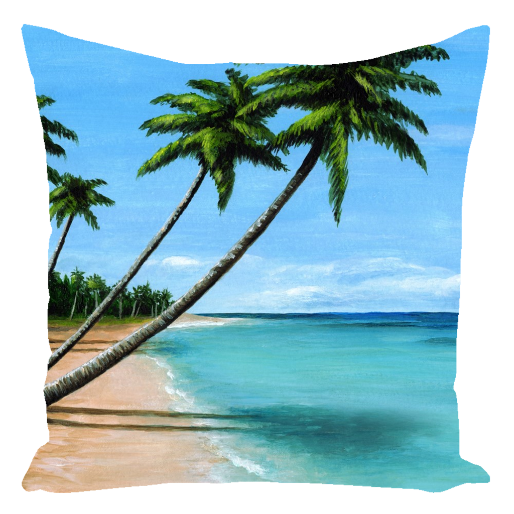 Sea View 272 Throw Pillow