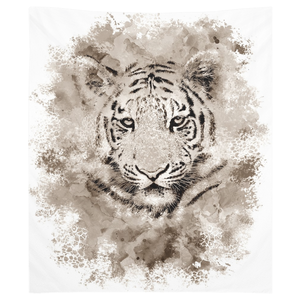 Tiger 4 Wall Tapestry