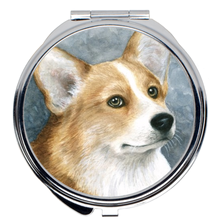 Load image into Gallery viewer, Dog 89 Corgi Compact Mirror