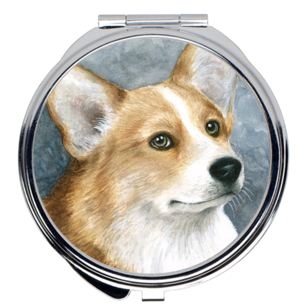 Dog 89 Corgi Compact Mirror