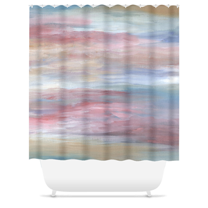 Abstract 16 Shower Curtains