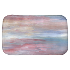 Abstract 16 Bath Mat