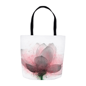 Flower 6 Lotus Tote Bag