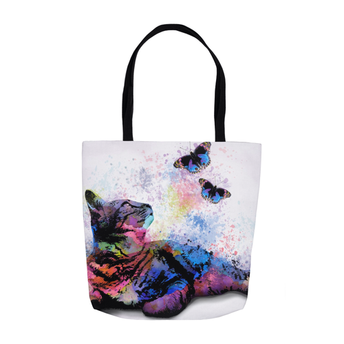Cat 614 Tote Bag