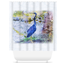 Load image into Gallery viewer, Photo 63 Blue Heron Shower Curtains