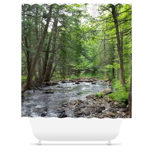 Landscape Forest Shower Curtains