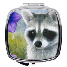 Load image into Gallery viewer, Raccoon 20 Compact Mirror