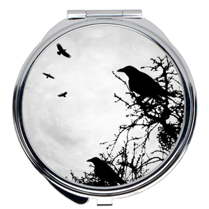 Design 43 Crow Compact Mirror