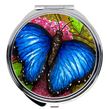 Load image into Gallery viewer, Butterfly 5 Compact Mirror
