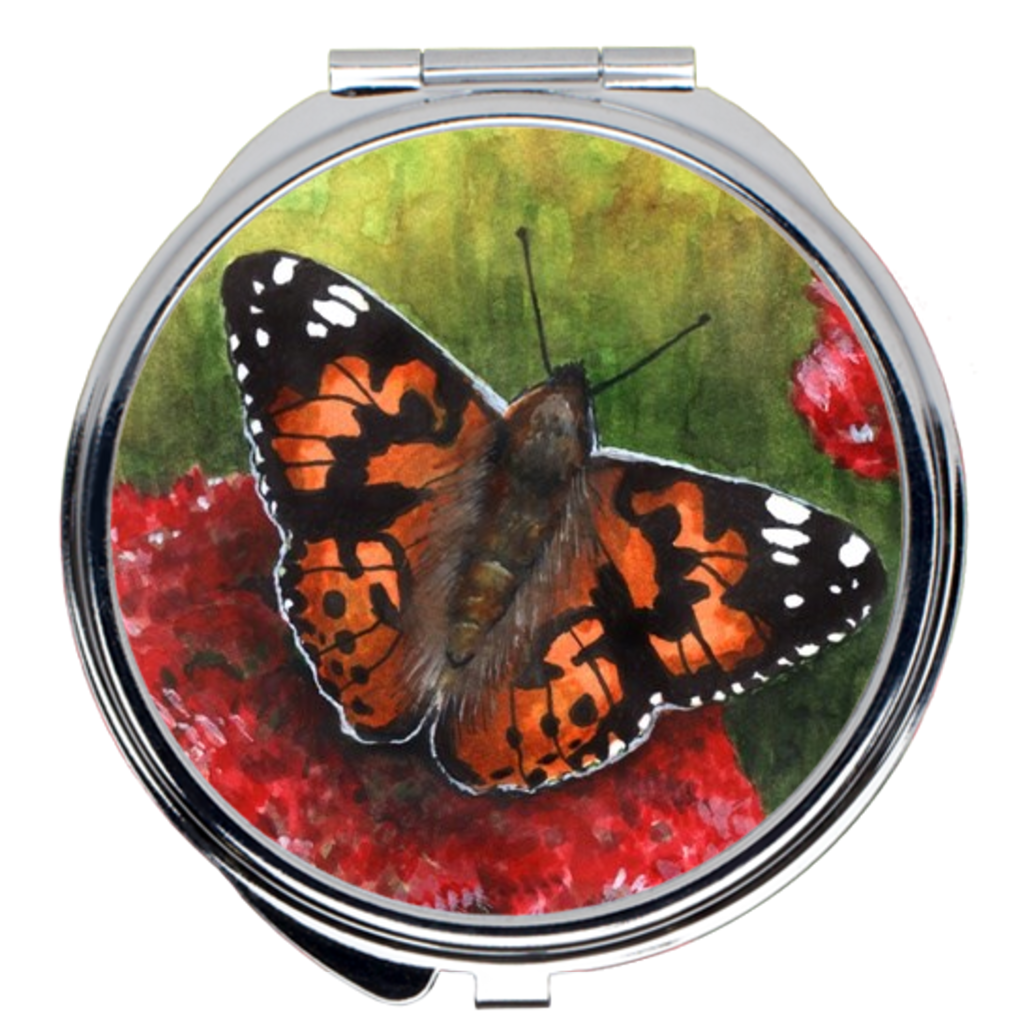Butterfly 6 Compact Mirror