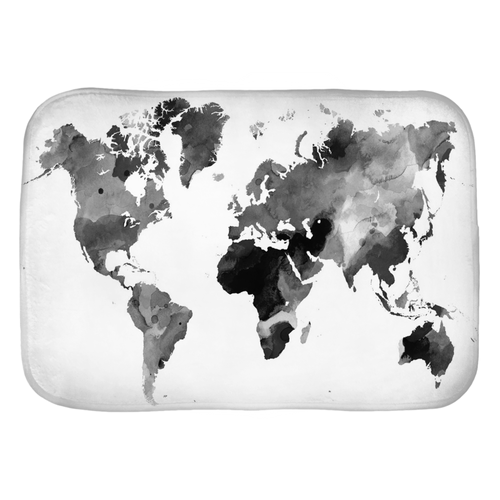 Design 42 World Map Bath Mat