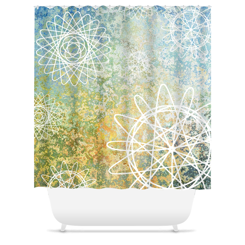 Design 135 Shower Curtains