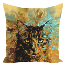 Load image into Gallery viewer, Cat 617 Throw Pillow