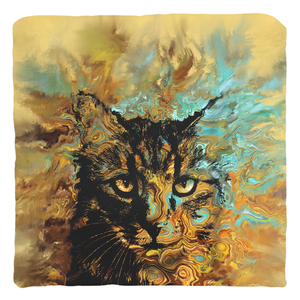 Cat 617 Throw Pillow