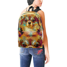 Load image into Gallery viewer, Dog 141 backpack