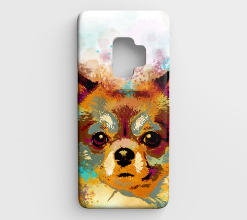 Dog 141 Chihuahua Samsung Galaxy S9 phone case