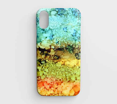 abstract 35 Iphone XR phone case
