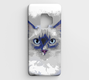 cat 639 Samsung Galaxy S9 phone case